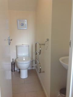 Downstairs en suite