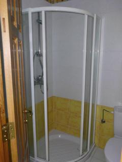 Lower level shower room