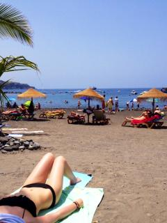 Relax on Playa San Juan beach