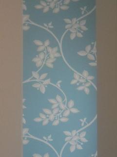 Wallpaper in bedroom 1
