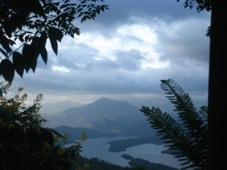 The views over Victoria Dam Reservoir
