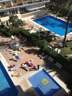 The 3 swimming pools