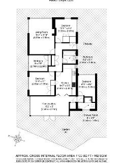 Floor plan of the property