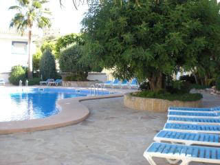 Swimming pool with shallow childrens area