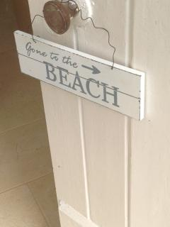 Let your friends know you are off to the beach!