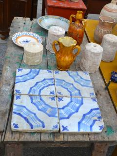 The Antique Market at Martina Franca every 3rd Sunday of the month