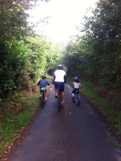 A vélo sur les chemins de Saint-Michel