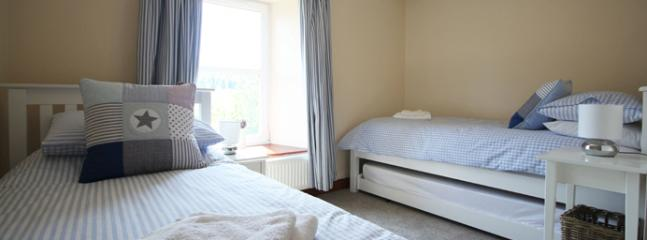 Twin Bedroom with views to countryside