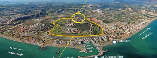 Establishing diagram showing location of Duquesa Village