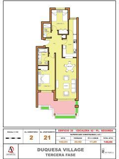 Floorplan of the Apartment