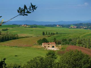 view of tha villa  from the fields