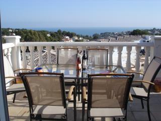 Fantastic Sea View Apartment at Parques Casablanca between Moraira and Calpe