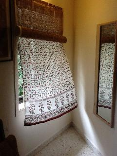 Bedroom - dressing area niche with full length mirror