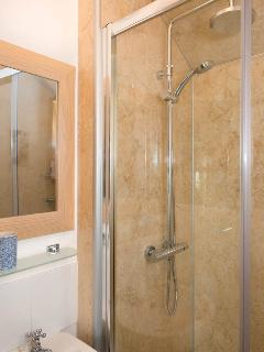 Shower room with large dual shower