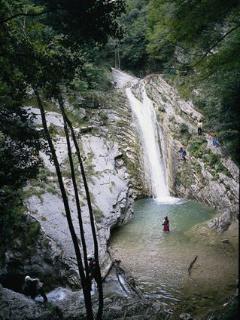 Waterfall in Tignale