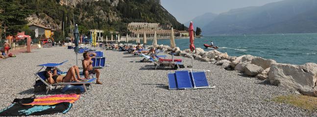 Tignale beach