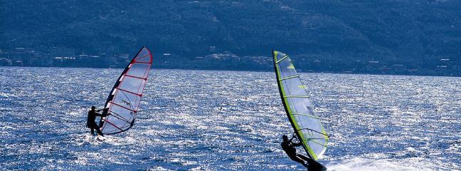 Surf in Garda Lake