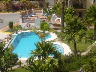 Nearest swimming pool viewed from terrace