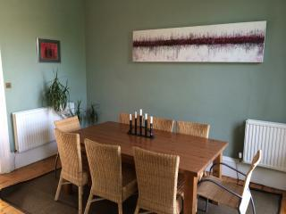 Dining area in drawing room