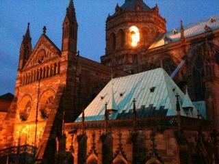 Strasbourg rare :Place de la cathédrale duplex