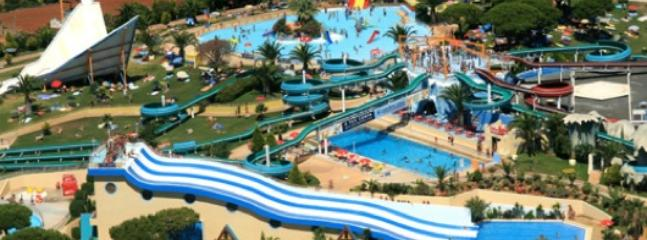 Aqualand 15 minutes drive from the apartment