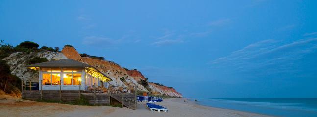Falesia beach 10 min away