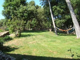 Truffle Gite private garden