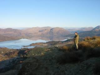 Just above the cottage looking over Loch Creran