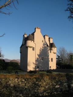 Barcaldine Castle is just short walk down the lane