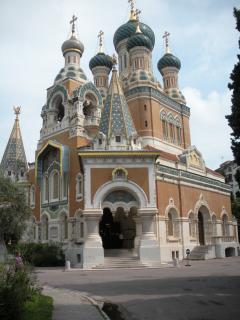 Famous Russian Cathedral close by apartment