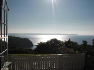 The Old Farm House, Porthpean, beach, view, golf, St Austell