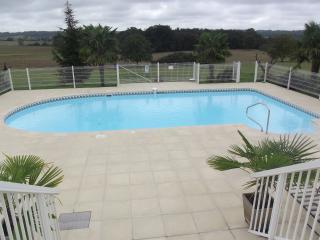 Villa luxe-4 chambres-piscine privée sans vis àvis, Pillac