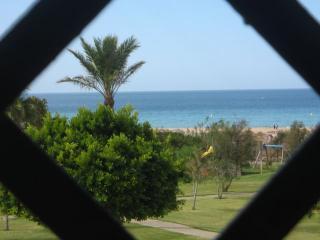 Terraza detalle vista directa al mar