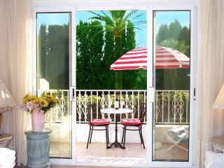 Looking out to balcony-terrace