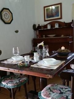Casa Rural Tia Lucila, comedor