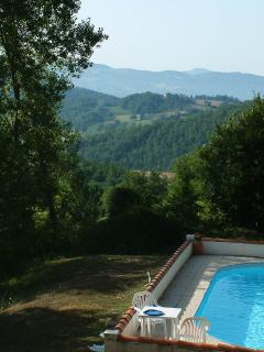 Pool and view from Gianesi