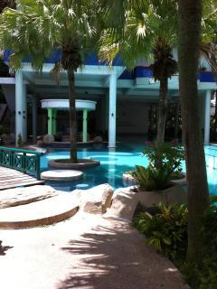 Main swimming pool