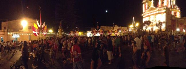 Main Square Sannat - St. Margaret Village Feast Celebrations