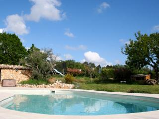 spacious villa with pool, Callian