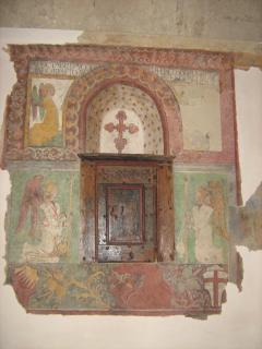 a Rocca of Roffeno you can visit: the ancient church, the Tabernacle dated 1486 and S.Lucia