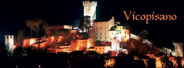 Vicopisano by night