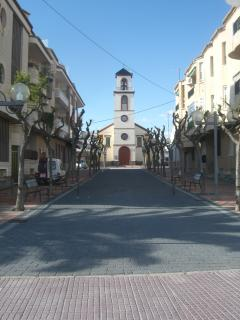 Church in the traditional part of Los Alcazares