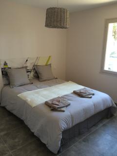 Chambre au rez de chaussée (lit de 160)