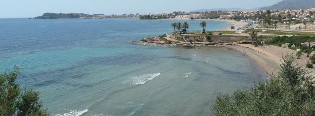 Puerto de Mazarron Bays, endless sea and sand