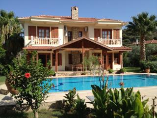 Villa Hatira. Private villa, jacuzzi, large pool, large garden, free wifi, all waiting for you.