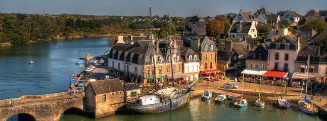 La port de St Goustan d'Auray, à 15min