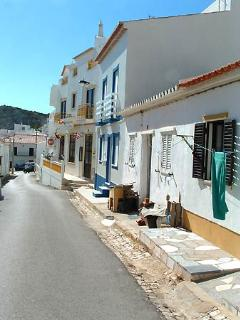 One of the colourful streets in delightful Burgau village