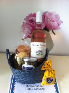 Welcome basket upon arrival