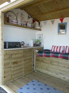Inside of Beach Hut