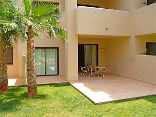 The sun-terrace has a choice of both shaded and open sun areas, and is right beside the pool